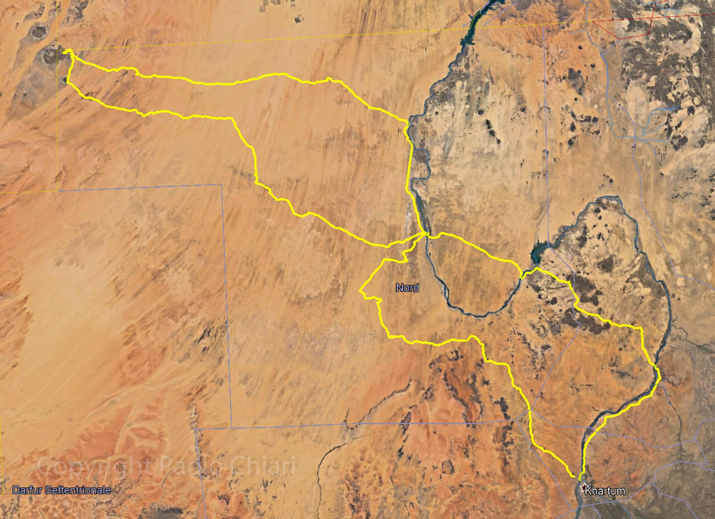 percorso sudan 13