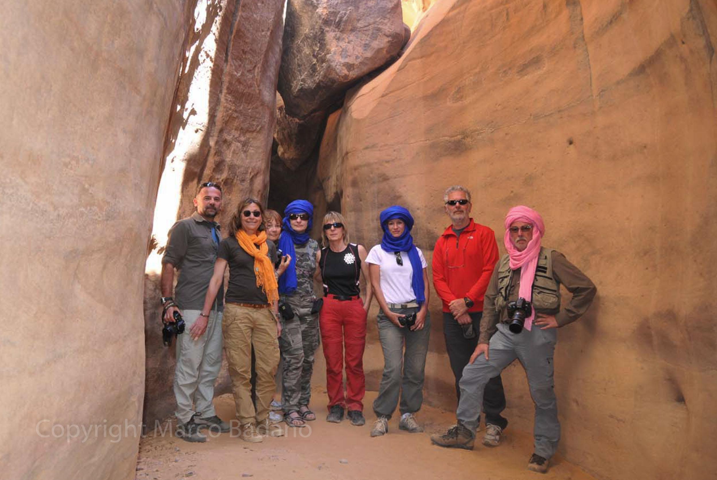 Il gruppo in Algeria 2014
