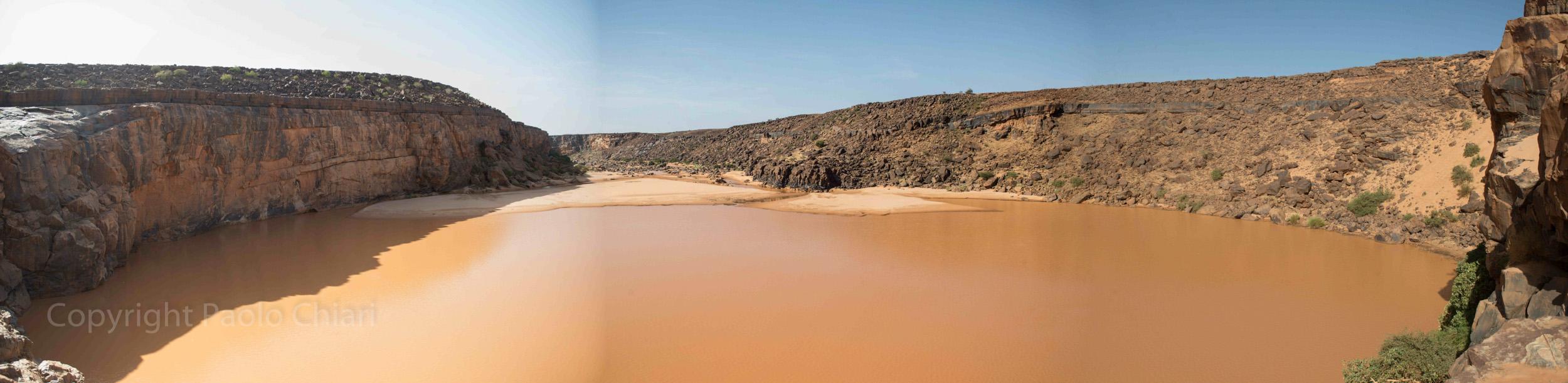 La guelta dei coccodrilli in Mauritania